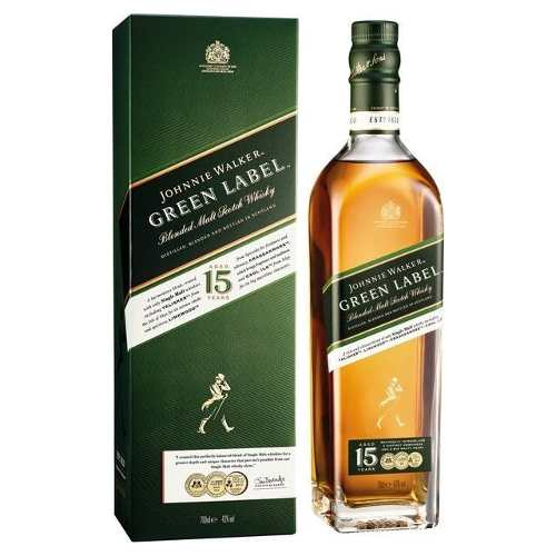 Whisky Johnnie Walker Green Label 750 ml