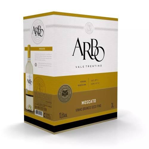 Box 4 Un Casa Perini Bag In Box Arbo Moscato 3000 ml