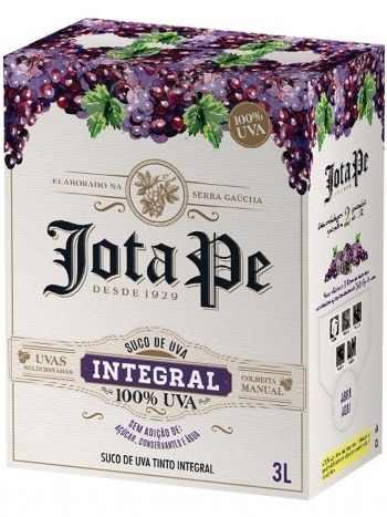 Casa Perini Bag In Box Jota Pe Suco De Uva Integral 3000 ml