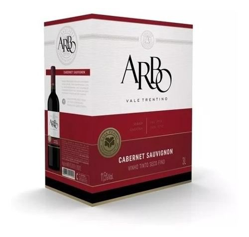 Box 2 Un Casa Perini Bag In Box Arbo Cabernet Sauvignon 3000 ml
