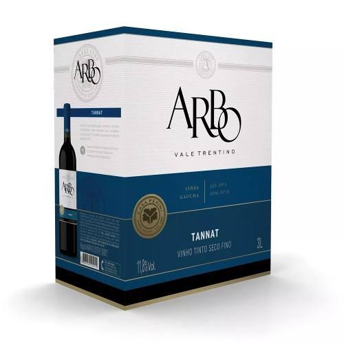 Box 3 Un Casa Perini Bag In Box Arbo Tannat 3000 ml