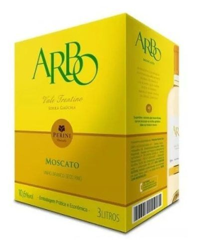 Box 3 Un Casa Perini Bag In Box Arbo Moscato 3000 ml