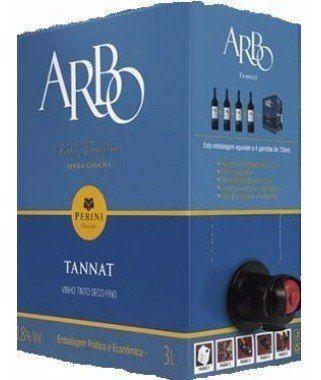 Box 2 Un Casa Perini Bag In Box Arbo Tannat 3000 ml
