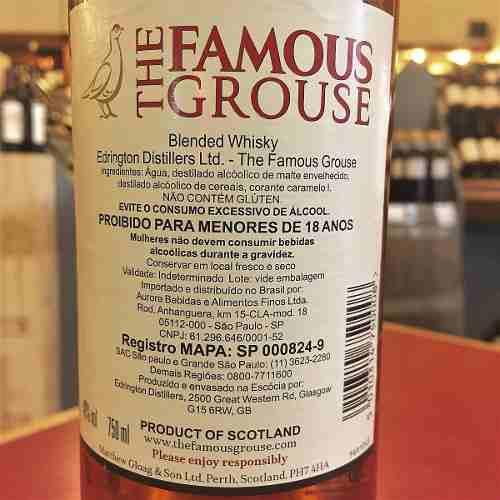 Box 06 Un The Famous Grouse 750 ml