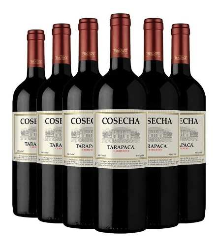 Box 12 Un Tarapaca Cosecha Carmenere 750 ml