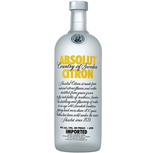 Absolut Citron 750 ml