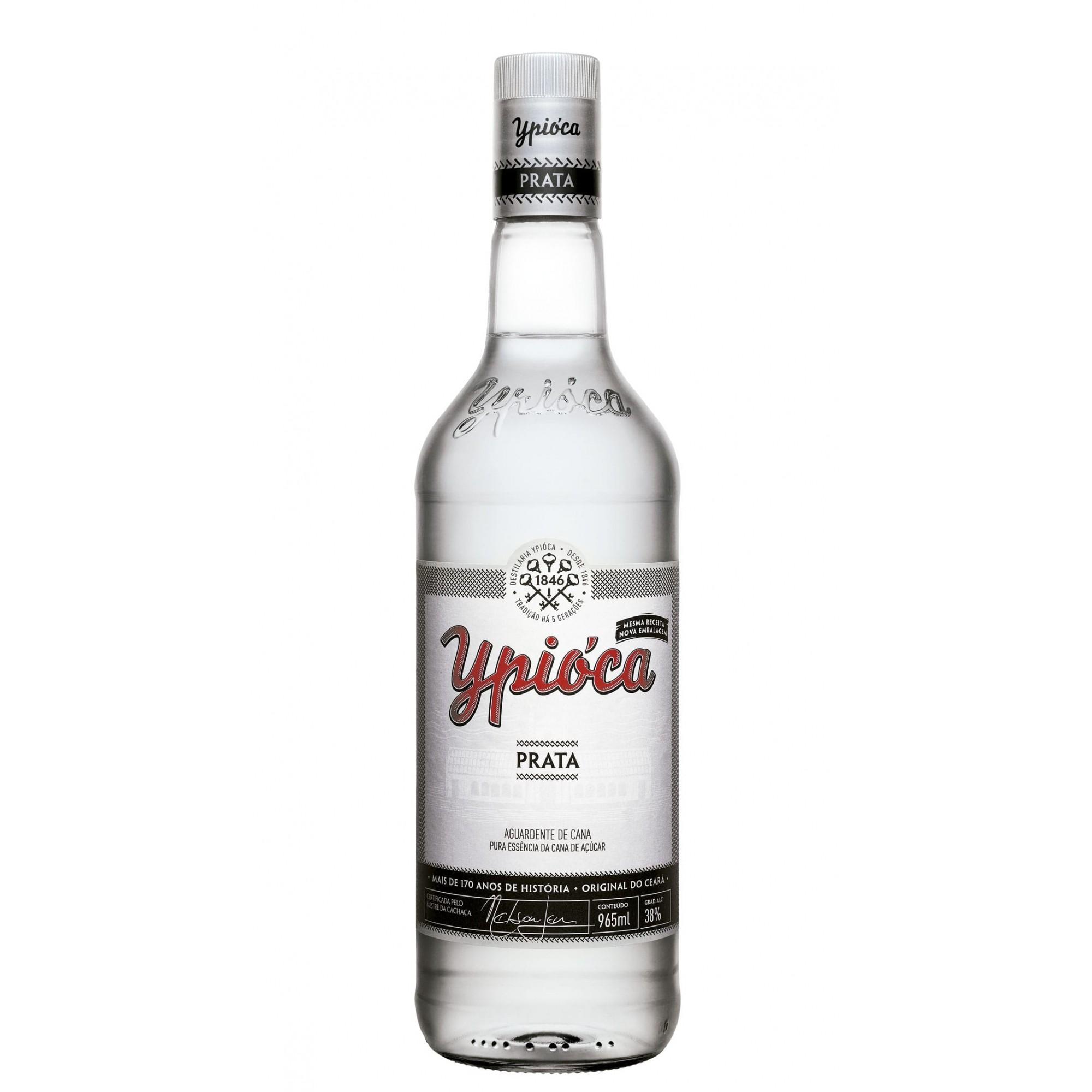 Aguardente Ypioca Prata 965 ml