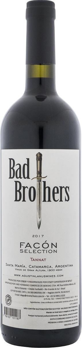 Agustín Lanús Bad Brothers Facón Tannat 750ml