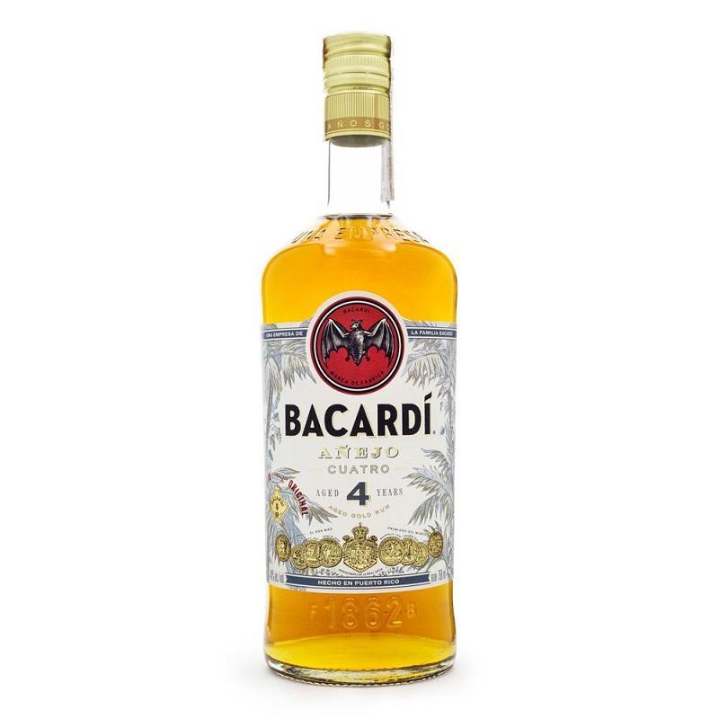 Bacardi Añejo 4 Anos 750 ml