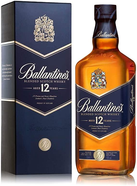 BALLANTINE'S 12 ANOS 750 ML