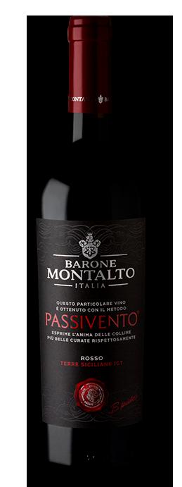 Barone Montalto Passivento Rosso Terre Siciliane IGT 750 ML