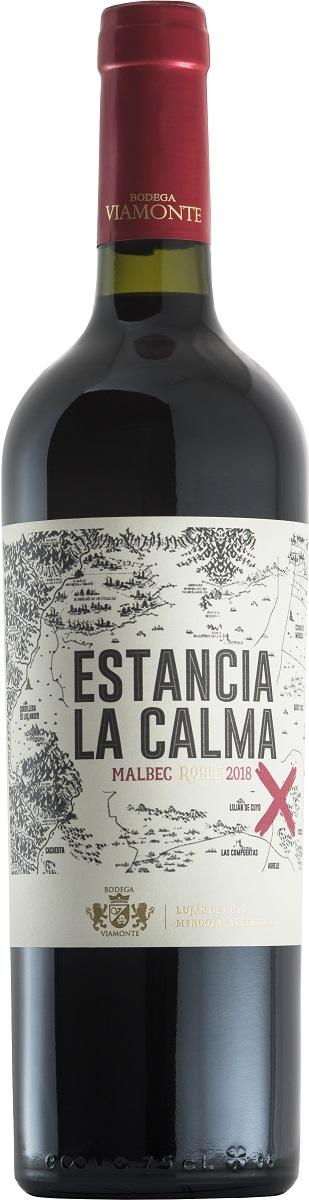 Bodega Viamonte Estancia La Calma Malbec Roble 750 ml