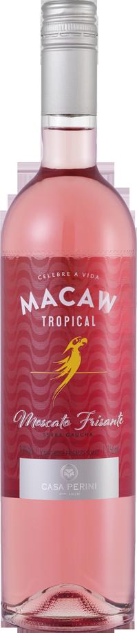Box 03 Un Casa Perini Vinho Frisante Macaw Rose Suave 750 ml