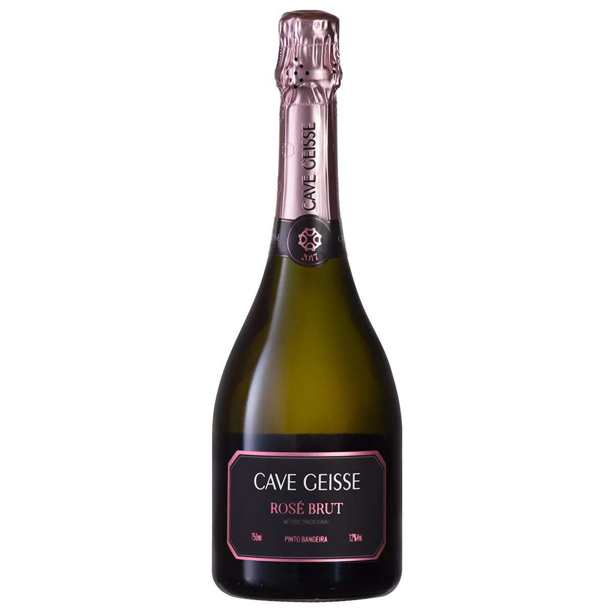 Box 03 un Cave Geisse Rosé Brut 750ml