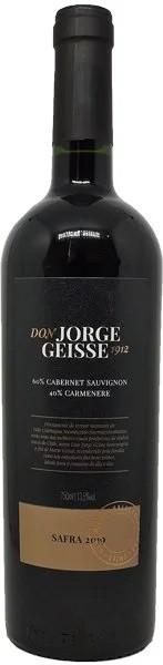 Box 03 un DON JORGE GEISSE CABERNET SAUVIGNON-CARMENERE 750 ML