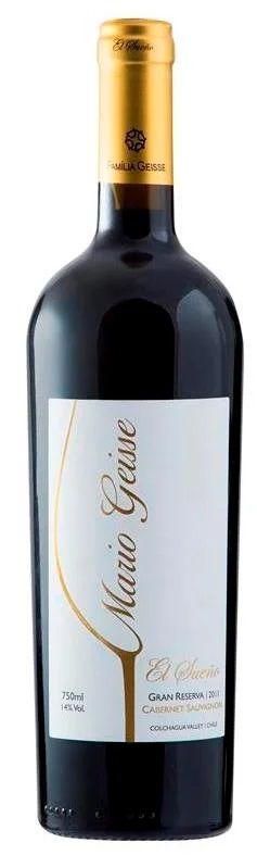 Box 03 Un Mario Geisse Gran Reserva Cabernet Sauvignon 750 ml