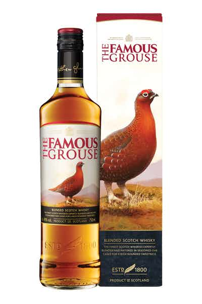 Box 06 Un The Famous Grouse 750 ml
