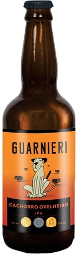 Box 12  Cerveja Guarnieri Cachorro Ovelheiro Ipa 500 ml