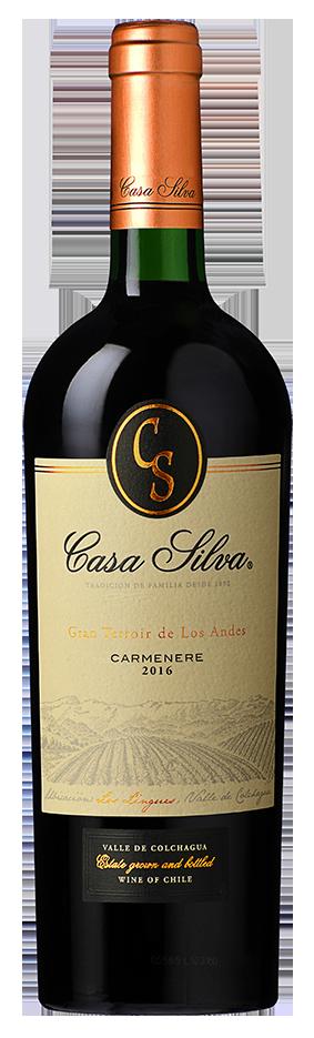 Box 3 Un Casa Silva Gran Terroir Los Lingues Carmenère 750 ml
