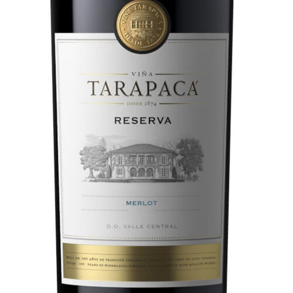 Box 03 un Tarapaca Reserva  Merlot 750 ml