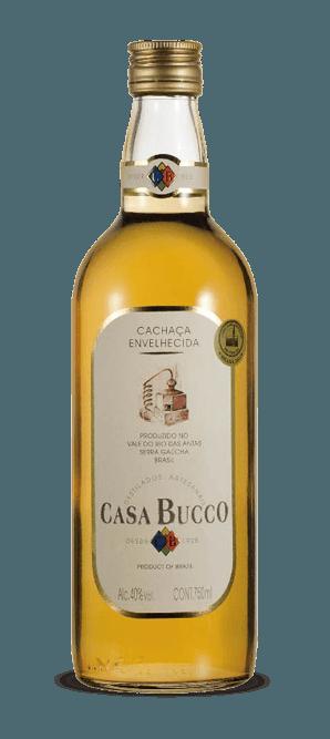 Cachaça Casa Bucco 6 Anos Ouro 750 ml