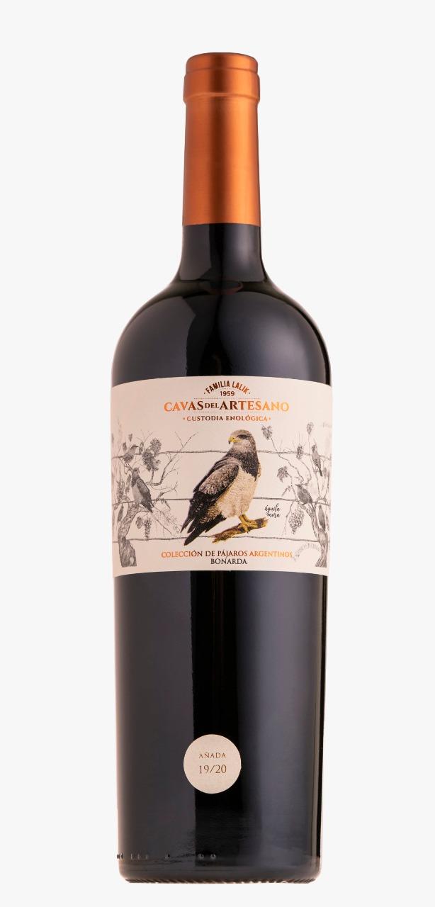 Cavas del Artesano Bonarda 750 ml - Pájaros Argentinos