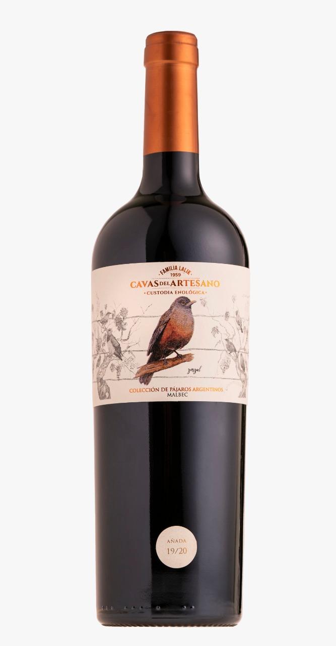 Cavas del Artesano Malbec 750 ml - Pájaros Argentinos