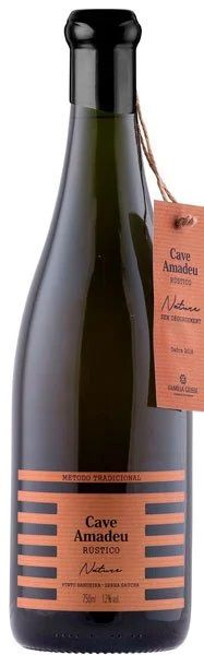 Cave Amadeu Rústico Nature Brut 750 ml