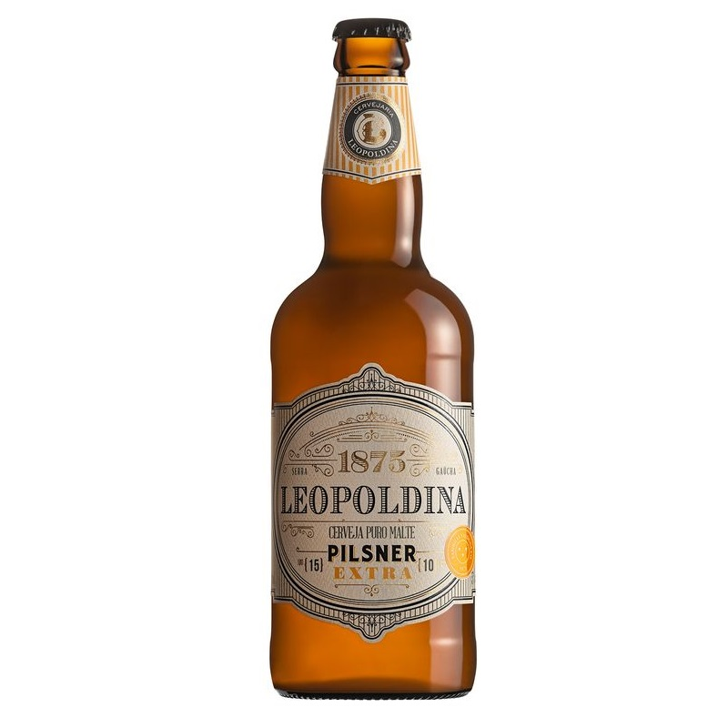Cerveja Leopoldina Pilsener Extra 500ml