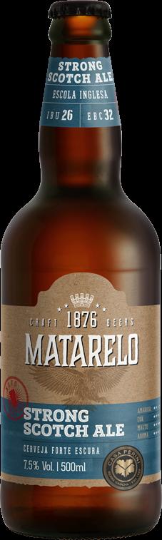 Cerveja Matarelo Strong Scotch Ale 500ml