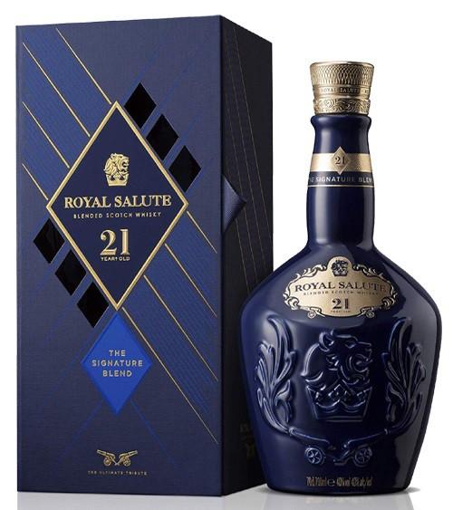 Chivas Royal Salute 21 anos Azul 700 ml