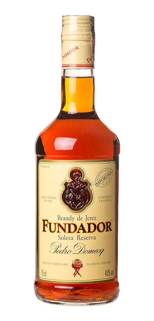 Conhaque Fundador Brandy 750 ml