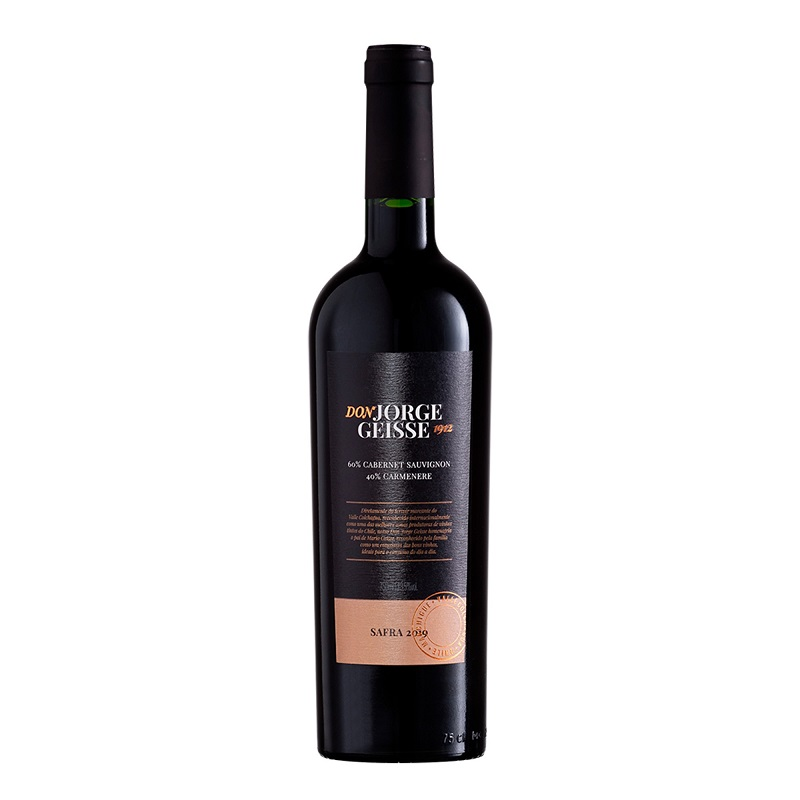 Don Jorge Geisse Cabernet Sauvignon-Carmenere 750 ml