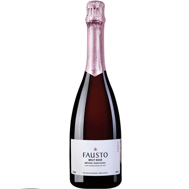 Espumante Fausto Pizzato Brut Rosé Tradicional 750ml