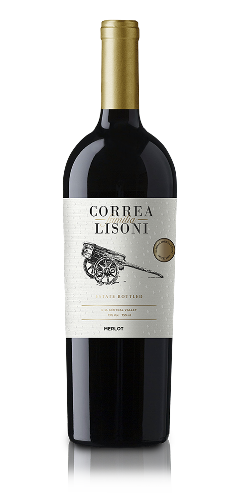 Familia Correa Lisoni Merlot 750 ml