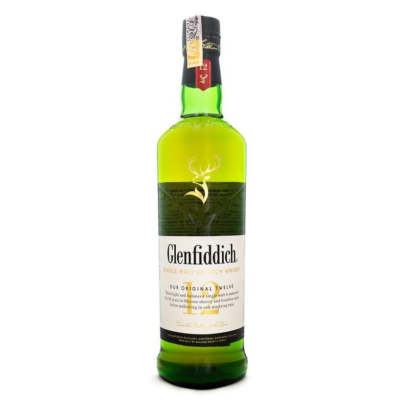 Glenfiddich 12 Anos 750 Ml