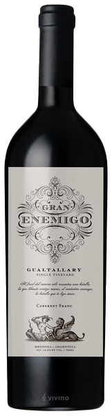 Gran Enemigo Single Vineyard Gualtallary 750 ml