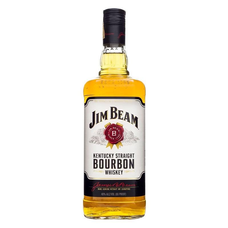 Jim Beam Bourbon 1000 ml