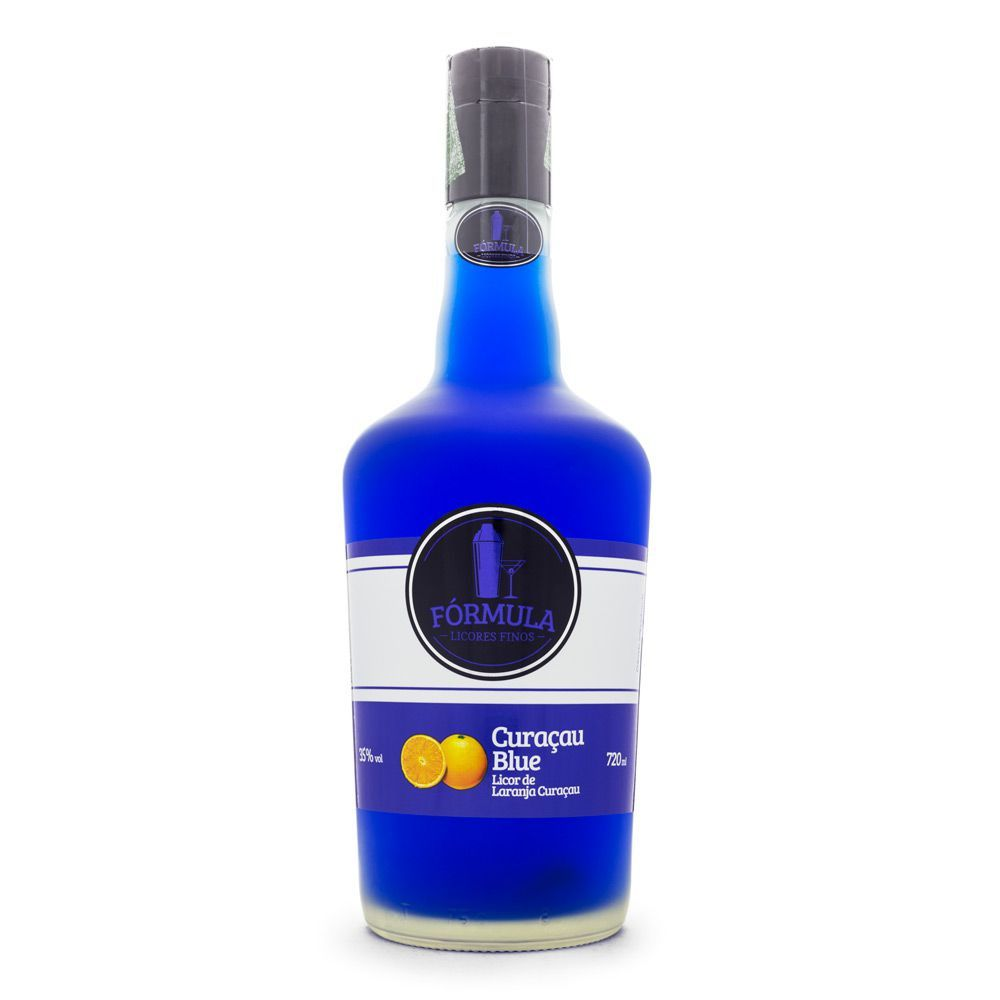 Licor Fórmula Curaçau Blue 720 ml