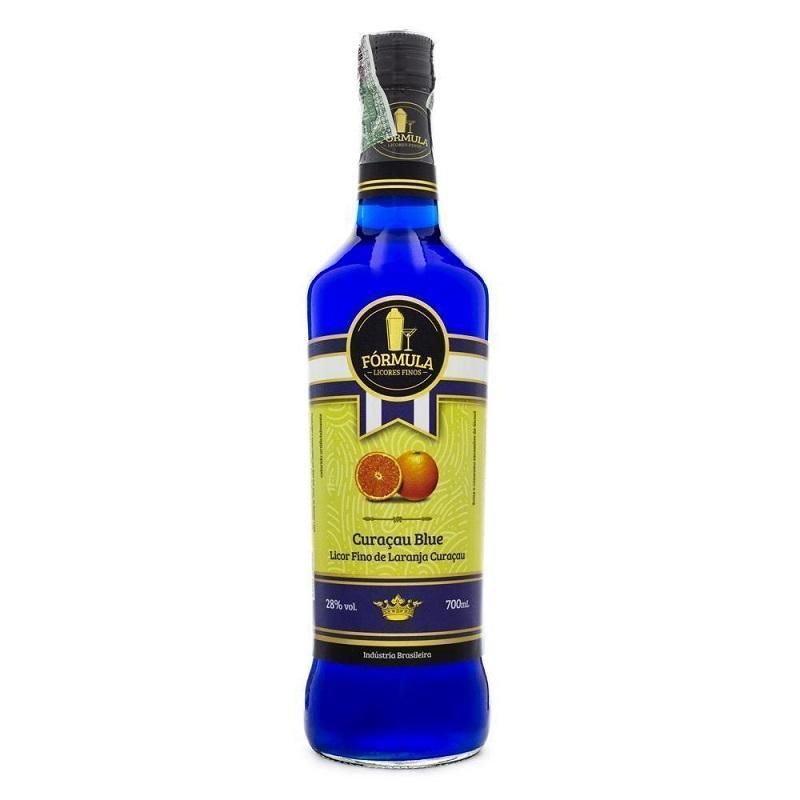 Licor Fórmula Curaçau Blue 720 ml