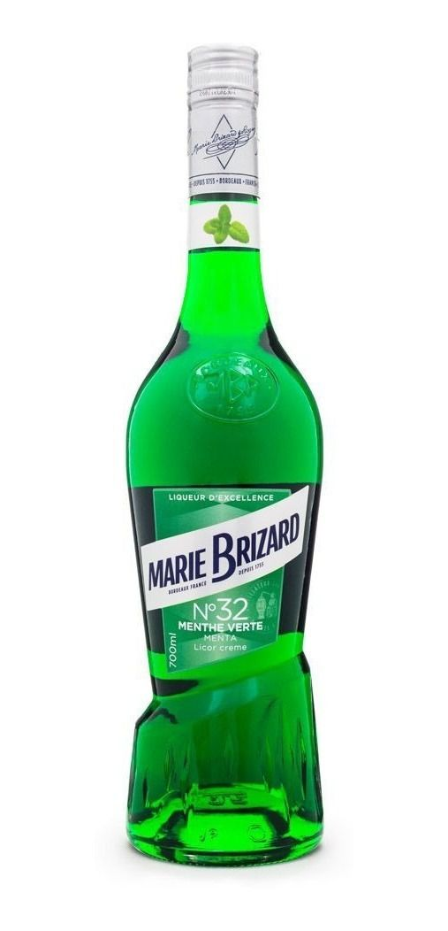 Licor Marie Brizard Menthe Verte N°32 700 ml