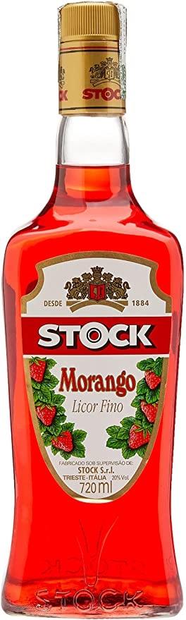 Licor Stock Morango 720 ml