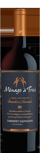 Ménage à Trois Bourbon Barrels Cabernet Sauvignon 750 ml