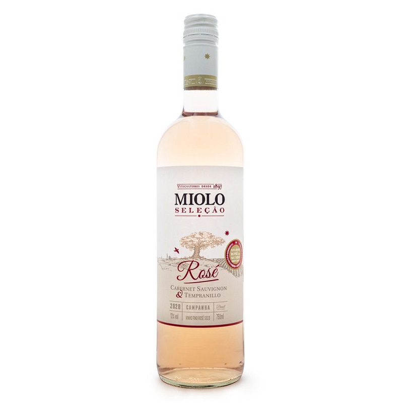 Miolo Seleção Cabernet Sauvignon & Tempranillo Rosé 750ml