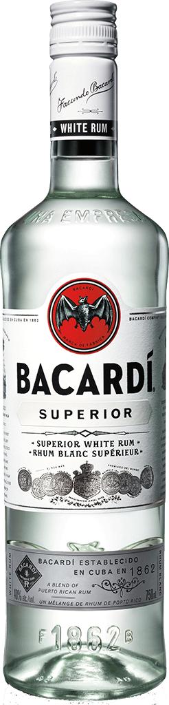 Bacardi Carta Blanca Superior 980 ml