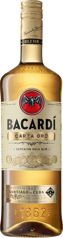 Bacardi Carta Oro 980 ml