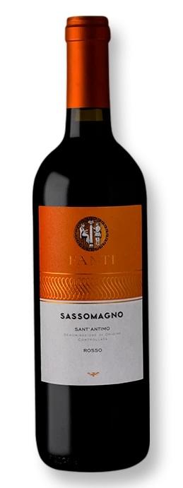 Sassomagno Sant Antimo Rosso DOC 750mL