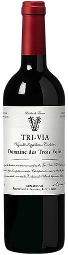 Tri-Via Domaine des Trois Vois 750 ml
