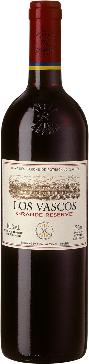 Vinho Los Vascos Grande Reserve Cabernet Sauvignon 750 ml