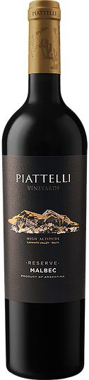 Vinho Piattelli Reserve Malbec 750 ml